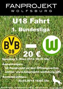 U18 Plakat Dortmund Liga
