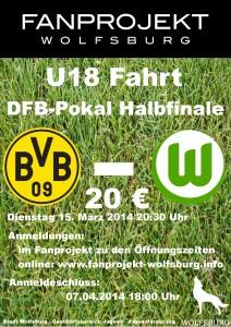 U18 Plakat Dortmund Pokal